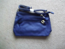Ladies Blue Cross Body Women's Bag also Over the Shoulder Bag