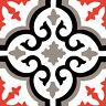 1x Sticker autocollant vinyle adhésif mural carreau de ciment décoratif Mosaïque