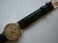 seltener Vintage  ANGELUS Chronograph  18 K Gold - Cal. Angelus 215 - 50er Jahre