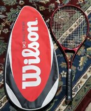 WILSON PRO 110 SUPER HIGH BEAM SERIES VIBRA CONTROL TENNIS RACQUET W/Case