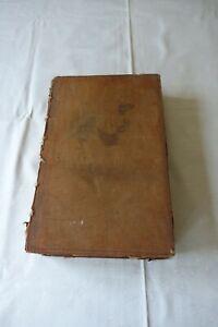 Evangelical Family Bible J Nuttall 1803