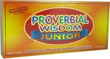 PROVERBIAL WISDOM JUNIOR - The Game of Proverbs & Familiar Sayings