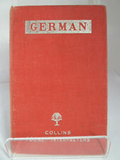 GERMAN; COLLINS'  POCKET INTERPRETERS edited by ZOE L RUSSELL 1951 FIRST EDITION