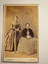 Herisau - 2 Frauen im Kleid - Portrait / CDV