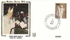 1980 POPE JOHN PAUL II CONGO AFRICA VISIT POSTAL COVER