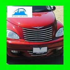 00-05 CHRYSLER PT CRUISER CHROME GRILLE TRIM 01 02 03 04