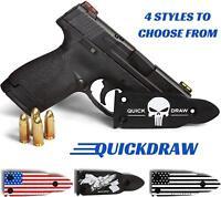 QuickDraw Gun Magnet Mount Holster Holder Handgun Glock Shotgun Mag *Punisher*