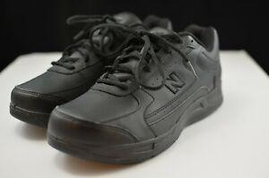 New Balance WW576 Black Walking Shoes Womens Size 11 2E with Lynco Orthotics