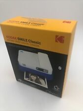 KODAK Smile Classic Digital Instant Camera with Bluetooth (Blue) Starter Kit