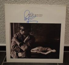 "PAUL YOUNG ""Between"" Vinyl LP original signiert signed IN PERSON Autogramm"