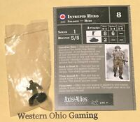 Axis & Allies Miniatures Reserves Intrepid Hero #2/45 NEW A&A