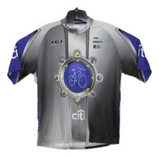 Louis Garneau Mens XL Citi Bike MS Cycle to the Shore 2008 Cycling Jersey