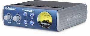 Presonus TubePre V2 Vacuum Tube Preamp + DI Direct Box, For Recording/Live Sound