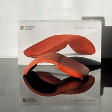 Microsoft Surface Arc Touch Mouse Poppy Red - Wireless - Bluetooth Con