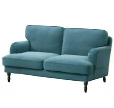 Ikea Stocksund Loveseat Cover Slipcover Ljungen Blue 103.197.43 New 2 Seater