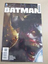 BATMAN EUROPA #3 VARIANT COVER Francesco Mattina 2016  DC Comic JOKER COVER