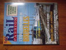 $$w Revue Rail Passion N°12 etoile ferroviaire Bruxelles  BB 63000  St-Michel-De