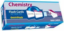 Chemistry (2008, Cards,Flash Cards) QuickStudy.  1000 cards.  English.   New