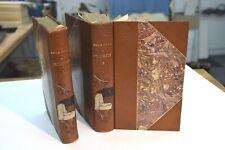 Bibliophilie - Emile Zola - Fécondité - en édition originale sur Hollande relié