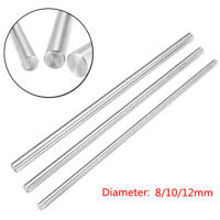 1 Piece 8/10/12mm CNC For 3D Printer Axis Smooth Rod Steel Linear Rail Shaft