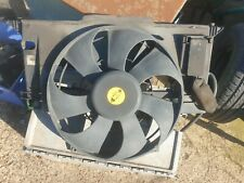 Rover 75. 1999-2004 Engine Radiator Cooling fan assembly.  Mg Zt