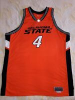 NIKE ELITE 56 OSU  4 BROWN GAME JERSEY OKLAHOMA STATE UNIVERSITY BASKETBALL 21e77359f