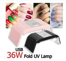 UV LED Nail Lamp Polish Dryer Gel Acrylic Curing Light Professional Spa Tool 36W