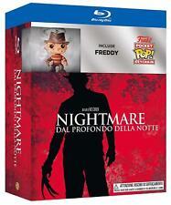 Nightmare on Elm Street -Blu-Ray- mit Freddie Krüger Funko Pop Schlüsselanhänger