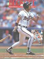 Beckett Baseball Monthly Magazine September 1991 #78 Dave Justice Atlanta Braves