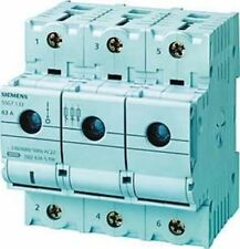 63 A 3p+N Fusionné Déconnecteur Interrupteur, D02 Fusible Taille