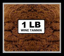 WINE TANNIN 1lb FACTORY PACK CROSBY & BAKER BSG BRAND NAME FOR HOME WINEMAKING