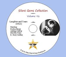 """DVD """"Laughter and Tears"""" (1921) starring Evelyn Brent, Classic Silent Drama"""