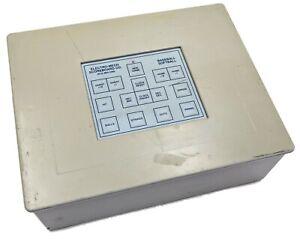 Electro-Mech Baseball Softball Scoreboard Controller Console - Working Pull