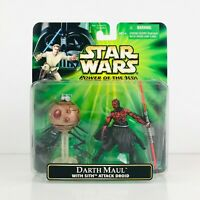 Star Wars POTJ Darth Maul with Sith Attack Droid Concept Art Action Figure 2001