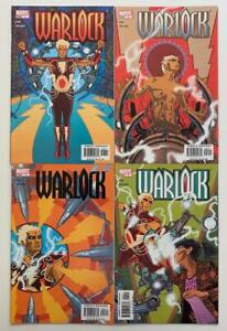 Warlock #1 to #4 complete series (Marvel 2004) VF+ & NM condition.
