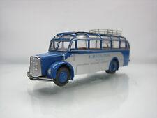 Roco Austria Saurer Komet Bus Albus Salzburg Blue 1/87 Scale Good Condition
