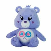 "Care Bears Purple Share Bear 10.5"" Soft Toy - Retro Cartoon Toys"