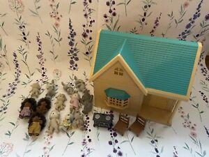 sylvanian families bundle Figures & House