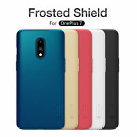For OnePlus 7 NILLKIN Super Frosted Shield Matte Rigid Plastic Hard Case Cover