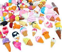 10, 15 or 25 Ice Cream Ice Lolly Kawaii Cabochon Set Kit DIY Decoden Craft Mix