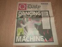 Q GLASTONBURY DAILY NEWSPAPER SATURDAY 27 JUNE 2009 LATE EDITION