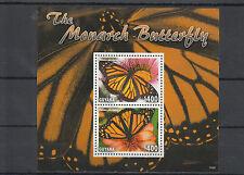 Guyana 2014 MNH monarch butterfly 2) / S / S INSETTI FARFALLE danaus plexippus