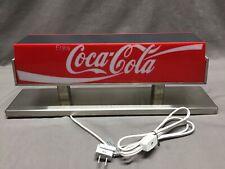 Vintage Coca-Cola Double Sided Coke Soda Fountain Machine Topper light Sign