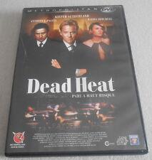 DVD  /  DEAD HEAT pari à haut risque avec KIEFER SUTHERLAND.ANTHONY LAPLAYA