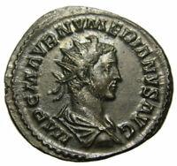 Numerian Æ Antoninianus (283 AD), MARS VICTOR, Lyons mint