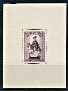 BELGIUM 1941 SAINT TROND SOUVENIR SHEETS BOTH TYPES SCOTT B315 & B316 CV $65.00
