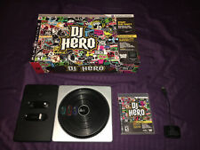 Playstation 3 PS3 DJ Hero Game + Turntable + USB Dongle Receiver