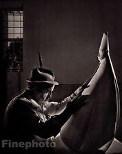 1970/83 Vintage 11x14 GIACOMO MANZU Italy Sculptor Artist Photo Art YOUSUF KARSH