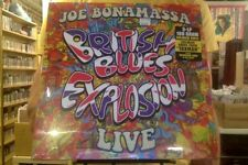 Joe Bonamassa British Blues Explosion Live 3xLP sealed 180 gm colored vinyl + DL