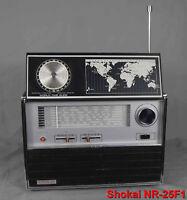Rare poste radio  multibandes  vintage Shokai NR-25F1 à restaurer